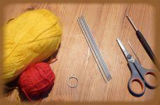 Bastelanleitung Für Einen Schlüsselanhänger Mini Ringel Socken In